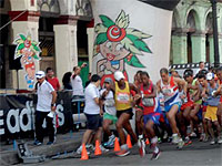 Marabana director general, Carlos Gattorno, said that the now traditional marathon has overtaken its own record of foreign participants.