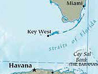 German pilot and member of Cuba's Hemingway I n t e r n a t i o n a l Sailing Club, Roger Klüh has confirmed his intention to break the speed record for a sea crossing between Key West in the U.S. and the bay of Havana.