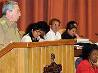 Cuban members of parliament reaffirmed in their most recent session of July, the solidary principles that the island holds with the poorest towns in the world, and they analyzed the progress of the economy, among other matters of national importance.