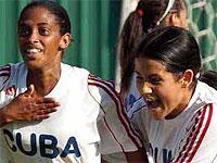 Cuban Ladies Also Play Football