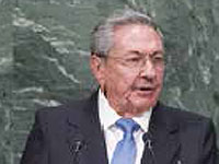 The Cuban president Raúl Castro's first participation in the United Nations constituted the ratification of clear positions and arguments of his country in matters of international development and politics, and the occasion for his second interview with the president of the United States, Barack Obama.