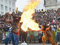 """A school of folkloric song and a network of Caribbean carnivals will be at the heart of activities in this city's upcoming Fire Festival,"" Orlando Vergés, director of the Caribbean House, has said"