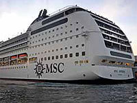 Displacing in excess of 59,000 tons and carrying 2,600 passengers of European origin, the MSC Opera cruise ship arrived last December in Cuba.