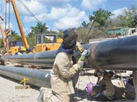 A new gas pipeline is expected to be inaugurated in western Cuba in late August, as part of investments in the oil sector with views to obtaining greater economic and environmental improvements for the country.