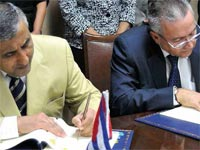Cuba is to undertake the construction of 34 small hydro- electric plants with financial support of almost 30 million dollars from the Kuwait Fund for Arab Economic Development.