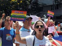 Havana and the neighboring province of Matanzas were the centers for the parades, gala performances and debate in this year more participatory ninth Cuban Campaign against Homophobia and Transphobia.