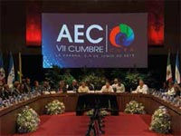 During the 7th Summit of the Association of Caribbean States (ACS) held recently in Havana, the Caribbean community ratified peace, integration, climate change and its consequences, and sustainable development as the focus of its common interests and key goals.