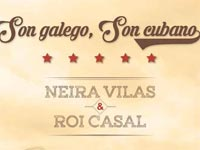 Galician Singer Roi Casal performed a fusion of Cuban and Galician traditional music at the launch of his new album, Son galego, Son cubano (Galician Son, Cuban Son) at Cuba's Gran Teatro de La Habana Alicia Alonso on May 27 and 28.