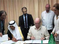 The signing of five agreements over a six year period between Cuba and the Saudi Arabian Fund for Development shows the interest both have in strengthening trade links, something particularly highlighted by the last two agreements on the development of the Island's water system.