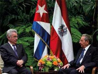 The visit to Cuba of Austrian president, Heinz Fischer, who was accompanied by a large business delegation, marked an important point in the development of commercial and financial relations and the future promotion of investments.