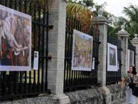 "Havana's facades have been impregnated with the colors and styles of the European schools of painting, through an exhibition at the city's ""Castillo de la Real Fuerza"" (Royal Forces Castle), of 50 Prado Museum reproductions, in what is the fifth year of the ""Prado on the Streets"" project."