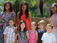 HAVANA.- The U.S. first lady Michelle Obama thanked the Cuban people for the hospitality and generosity shown during her family's visit to Cuba, wishing that the relations between the two countries bring the U.S. and Cuban people even closer together.
