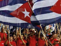 May Day in Cuba is always a popular celebration and the parade of hundreds of thousands of workers in Havana's Revolution Square is an act that reaffirms their support for the Cuban Revolution.